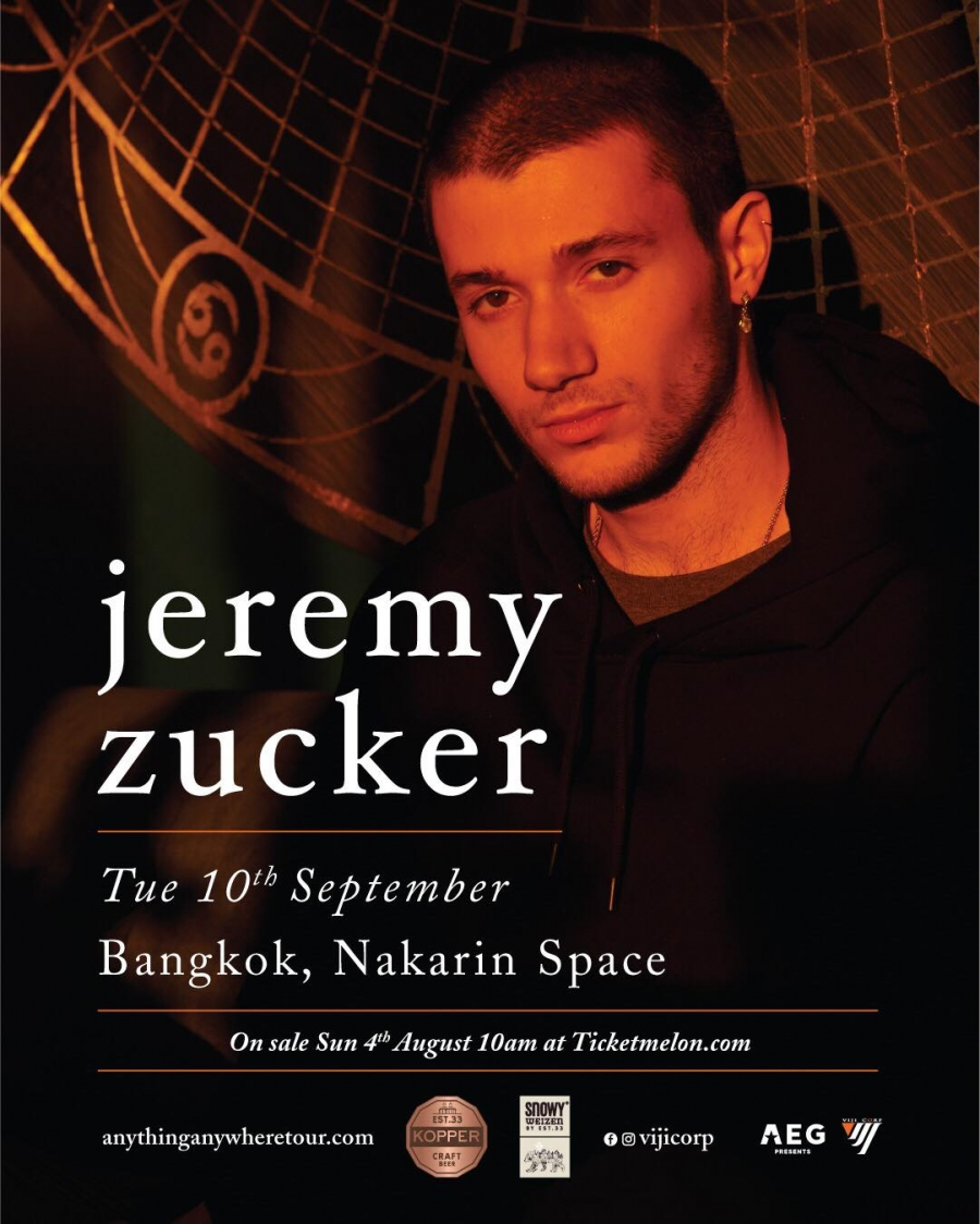 Jeremy Zucker Live in Bangkok 2019