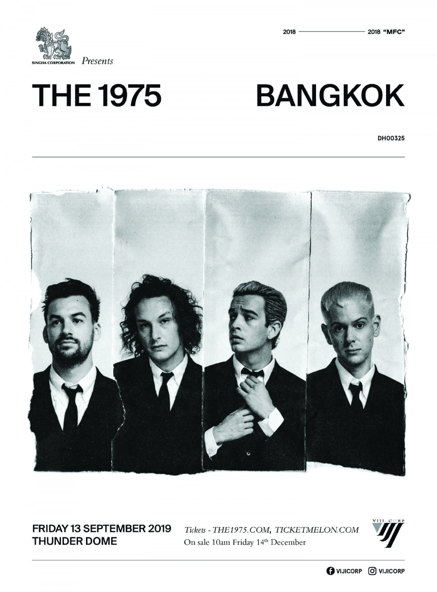 The 1975  Live in Bangkok 2019