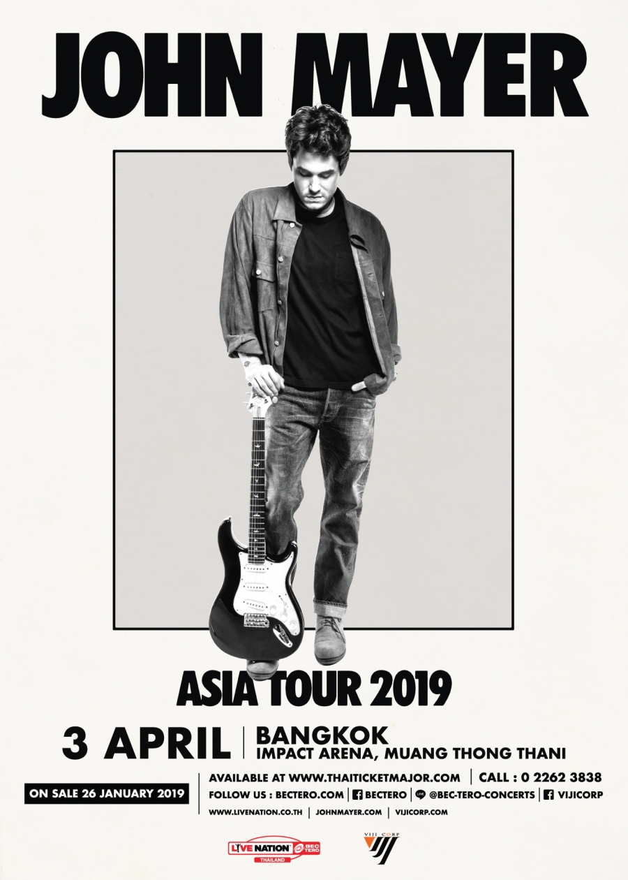 John Mayer Live in Bangkok 2019